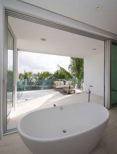 bathroom view by STRANG