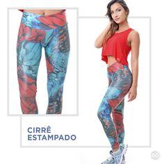 Olha que incrível essa calça em cirrê com estapa digital da CajuBrasil!! #temnalivreeleve #weloveestampas