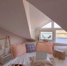Untitled Home Decor Room Ideas Bedroom, Bedroom Inspo, Bedroom Decor, Study Room Decor, Bedroom Bed, Dream Rooms, Dream Bedroom, Pastel Room, Pastel Purple