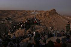 Holy Sites for Syria's Christians Jesus On The Cross, Holy Land, Syria, Seattle Skyline, Christianity, Mount Rushmore, Catholic, Spirituality, Community