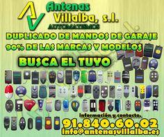 Te copiamos o hacemos tu mando de garaje mira si en la foto esta el tuyo o consultanos... #mandosdegaraje #mandospuertas #automatismos