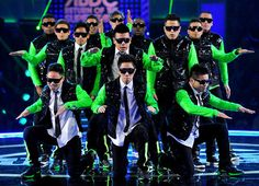 America Best Dance Crew. Loving the green accent!