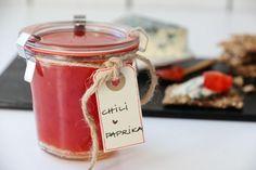 CHILIMARMELADE Chili, Edible Gifts, Cold Meals, Nigella, Dip Recipes, All Things Christmas, Feta, Crockpot, Marmalade