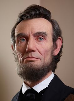 Japanese artist Kazuhiro Tsuji creates incredibly realistic sculptures of iconic characters like Abraham Lincoln and Andy Warhol. Andy Warhol, Abraham Lincoln, Men In Black, The Grinch, 3d Portrait, Hollywood, Polychromos, Art Graphique, Kyoto Japan
