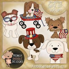 12- Americana Puppies