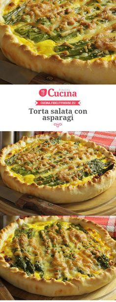 Torta salata con #asparagi