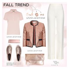 """Fall Jewelry Trend: Rose Gold"" by fashiooondesigner ❤ liked on Polyvore featuring Barbour, Clare V., Diane Von Furstenberg, Steve Madden, True Decadence, Topshop, Michael Kors, rosegold and polyvoreeditorial"