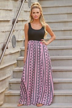 This Ones For You Maxi Dress - Pink from Closet Candy Boutique - #newarrival #shop