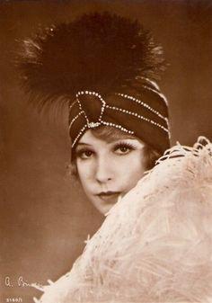 Portrait of Lili Damita by Alexander Binder, 1920's