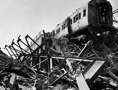 The London Necropolis Railway Was a Train for the Dead - The remains of part of the line after the Blitz.