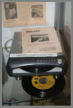 Philips car record player