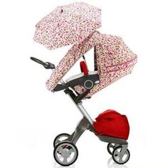 Stokke Xplory Summer Kit Pixel Pink - B0051YUUIM 119.99$ Features: includes rear and side ventilation netting to increase all-important air-flow A sun sail, parasol and hood offers Factor SPF 50 protection from harmful UVA and UVB rays. Terrycloth seat cover Can be used only on V3