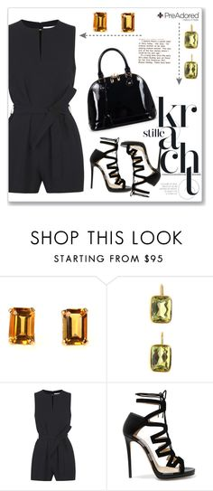 """""""PreAdored.com"""" by amra-mak ❤ liked on Polyvore featuring Victoria, Victoria Beckham, Jimmy Choo, Relaxfeel and PreAdored"""