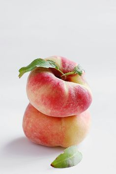 Donut Peaches - these are my new favourite fruit!