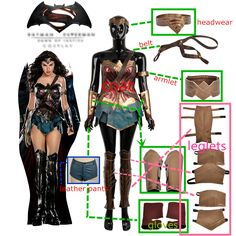 Movie Batman v Superman:Dawn of Justice Wonder Woman Cosplay Costume For Adult Women Fashion Outfit Clothing Carnival Christmas Girl Costumes, Adult Costumes, Costumes For Women, Cosplay Costumes, Cosplay Dress, Costume Dress, Anime Cosplay, Halloween Costumes, Batman Wonder Woman