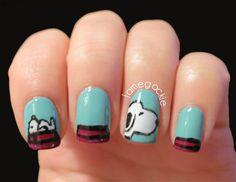 Snoopy Nails :)    @Christy Polek Holt