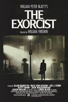O EXORCISTA - The Exorcist, 1973 was more than just a movie. It was a world wide rage that no horror movie matched before or since. Iconic Movie Posters, Iconic Movies, Old Movies, Film Posters, Latest Movies, Original Movie Posters, Vintage Movies, Best Horror Movies, Classic Horror Movies