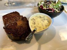 """Restaurant L'Ogenblik - Entrecôte """"Cube Roll"""" écossaise"""