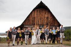 Tara & Ben: Catamount Ranch Steamboat Springs - Denver Wedding Photographer | Rustic, Romantic, Colorado