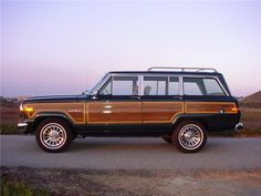 The Iconic Jeep Grand Wagoneer - I'd love to have one of these, the great outdoors edition!