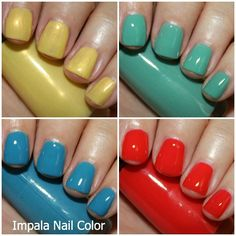 Impala Nail Color Swatches and Review - Vampy Varnish