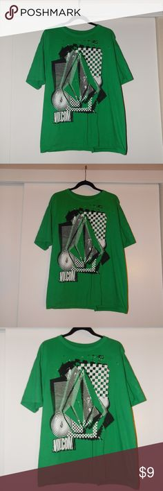 Volcom T-Shirt Men's XL Bright Green Volcom T-Shirt. In great condition, rarely worn. Volcom Shirts Tees - Short Sleeve