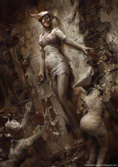 Silent Hill fanart by alexnegrea on DeviantArt  https://www.facebook.com/Gamers-Interest-188181998317382/