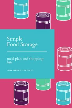 When you build a food storage from a meal plan and recipes it 's easier. lets not forget about the time and money saved. Grab your free recipe based food storage plan with recipes and shopping lists included to get your food storage finally started. Emergency Preparedness Food, Emergency Food Storage, Emergency Food Supply, Living On A Budget, Frugal Living, Long Term Food Storage, Free Meal Plans, Shopping Lists, Base Foods