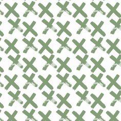 "TELA JERSEY ""Green X"""