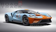 The Ford GT in Gulf livery will haunt your dreams  - RoadandTrack.com