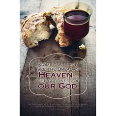 Bulletin-Communion-Bread of Heaven (Pkg-100)