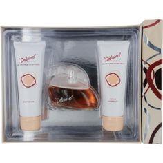 Delicious Eau De Toilette Spray 3.3 oz & Body Lotion 3.3 oz & Shower Gel 3.3 oz by Gale Hayman