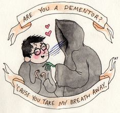 Harry Potter Meme, who says the dementors can't be cute...