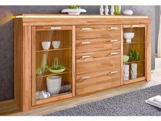 Komody buk - Masiv-Prodej.cz Led Stripes, Industrial Interior Design, Komodo, China Cabinet, Lyon, Bathroom Medicine Cabinet, Locker Storage, Dresser, Shelves