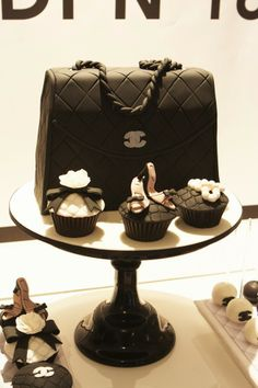 A birthday theme for any stylish #swell , #Chanel ! // Swanky-Chic-Fete Blog
