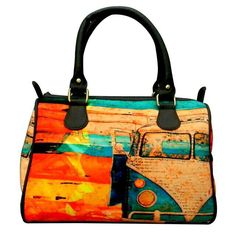 On a long drive Digital Print Hand bag for only 1049/-