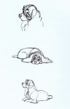 Lady and the Tramp (1955) concept art