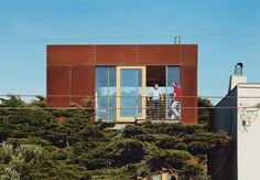 Whereas other exterior metals grow unsightly marks of wear with exposure to the elements, Cor-Ten thrives on oxidation. Culled from our archives, here are a few steel facades that become more distinguished with each new coat of rust.