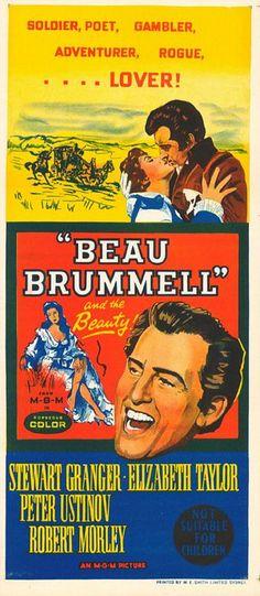 """Beau Brummell"" (1958) Stewart Granger, Elizabeth Taylor"