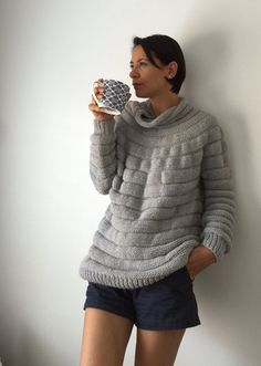 LAST one!!! Cloud Sweater.. Baby blue alpaca s/m size..Next day shipping..FREE Shipping for Australia & NZ!!