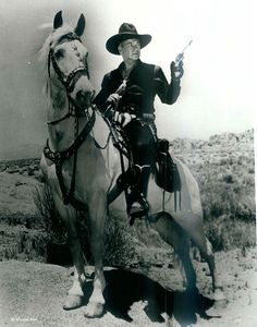 *Hopalong Cassidy and his horse, Topper