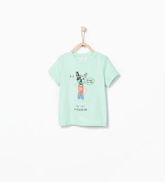 ANIMALS T-SHIRT-T-shirts-Baby boy (3 months - 3 years)-KIDS | ZARA United States