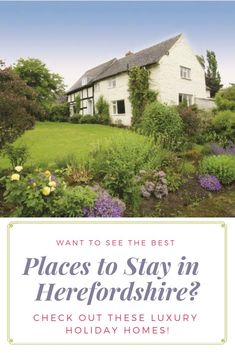 Holiday Cottages in Herefordshire to Rent Quirky Places To Stay, Best Places To Travel, Cool Places To Visit, Uk Holidays, Luxury Holidays, Independent Cottages, Holiday Cottages Uk, Large Holiday Homes, Character Cottages