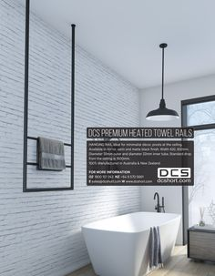OZ Houses - Kitchens + Bathrooms, DCS Hanging Towel Rail