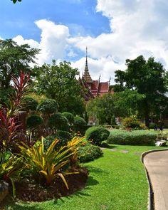 Amazing Thailand 😍 Wat Chaithararam, Phuket #oncesgain #thailand #phuket #asia #europeinasia #discover #seeightseeing #discovernewplaces… Phuket, Golf Courses, Thailand, Asia, Sidewalk, Amazing, Places, Instagram, Side Walkway