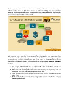High demand of sap solution in oil and gas industry for risk free management