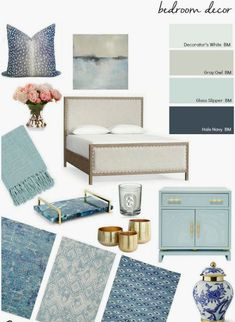 Create your dream bedroom by incorporating our favorite beautiful bedroom decor ideas while adding furniture accents and art that are not only beautiful but functional. Use our tips to get started making over your bedroom. - March 17 2019 at Bedroom Colors, Home Decor Bedroom, Bedroom Furniture, Dream Bedroom, Bedroom Art, Bedroom Ideas, Asian Furniture, Furniture Dolly, Serene Bedroom