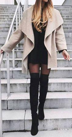 Vestido no inverno: Modelos e dicas para usar - Vestido do dia