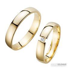 Trauringe Eheringe Gold Gelbgold - HR200 #Trauringe #Eheringe