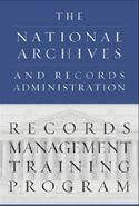 National Records Management Training Program Enterprise Content Management, Records Management, Training Materials, Federal Agencies, Online Lessons, Training Programs, Libraries, Programming, Logo
